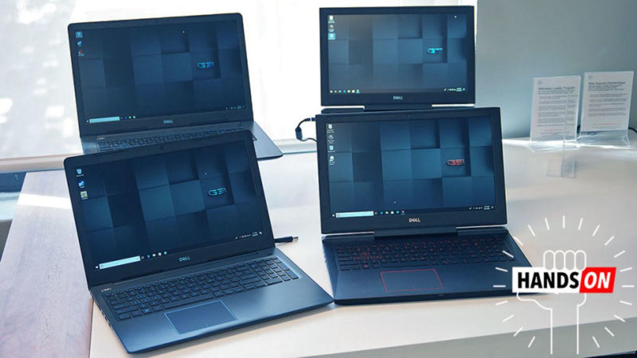 Dellの低価格ゲーミングノート「Gシリーズ」ハンズオン:質素ながらしっかりした作り
