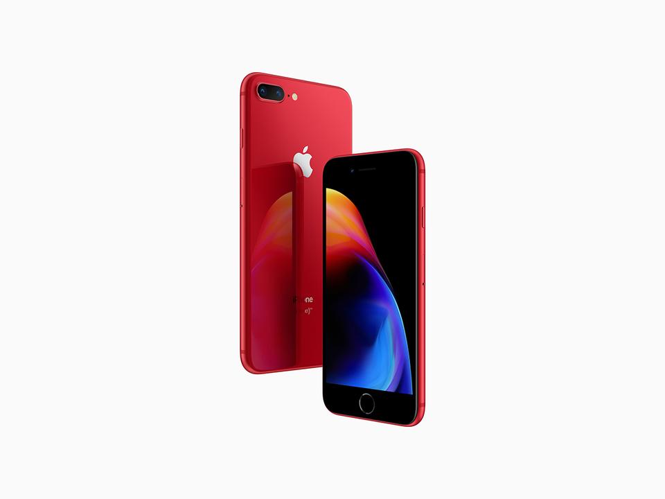 赤いiPhone登場。iPhone 8/8 Plus (PRODUCT) RED Special Edition