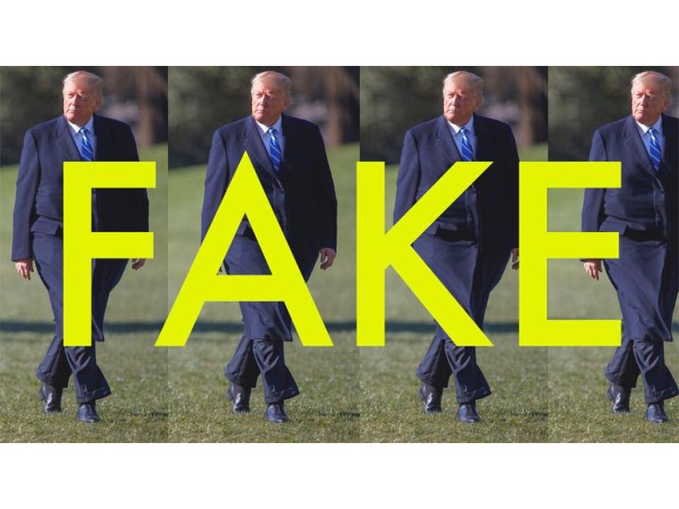 Twitterで拡散中のちょっと太めのトランプ大統領画像、それフェイクです