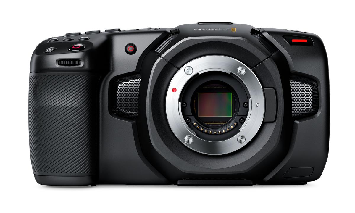 放熱スリットつき!「Blackmagic Pocket Cinema Camera 4K」は動画一眼の本命か