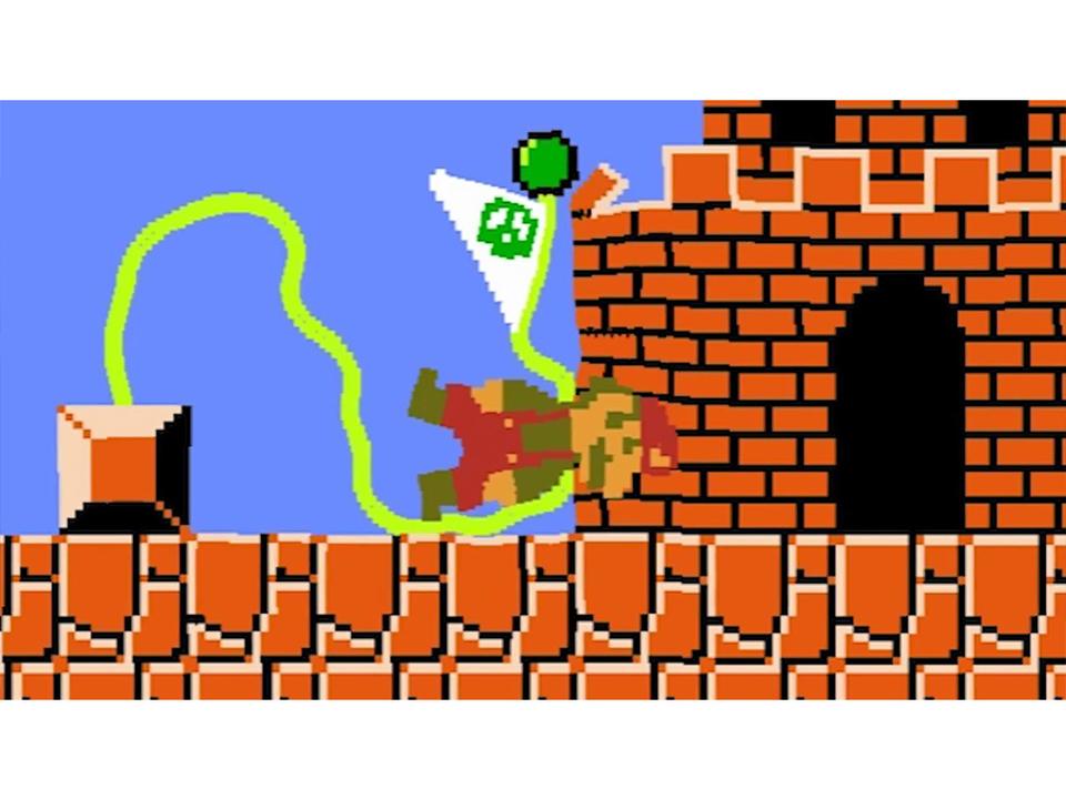 キノコ王国がブニョンブニョン! すべてがゼリーのように柔らかいゲーム「ジェリーマリオブラザーズ」