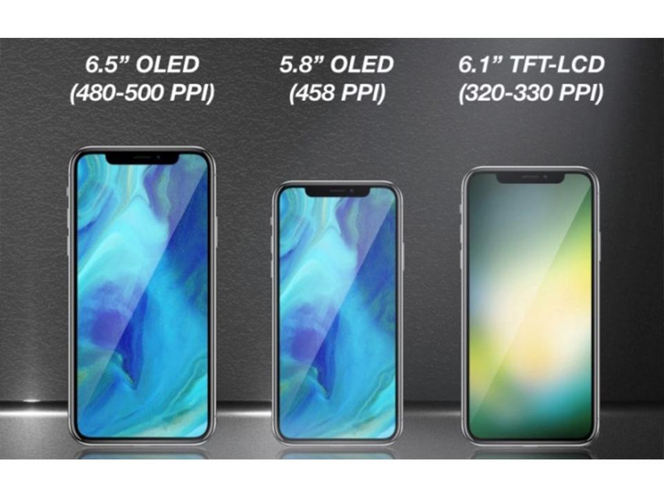 今年の新型iPhoneの3機種、生産台数の半分は液晶ディスプレイ搭載モデルに?