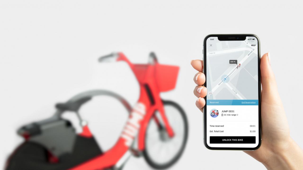 自転車にますます力をいれるUber、シェア自転車のJumpを買収