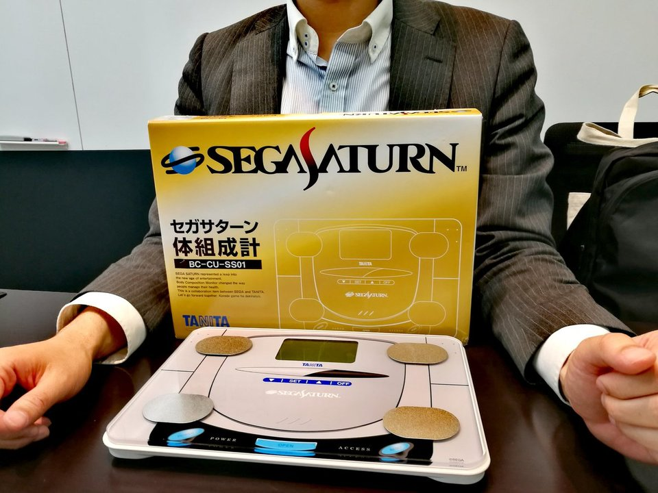 タニタが作ったセガサターン体組成計、4月14〜15日に開催されるセガフェスで発表!