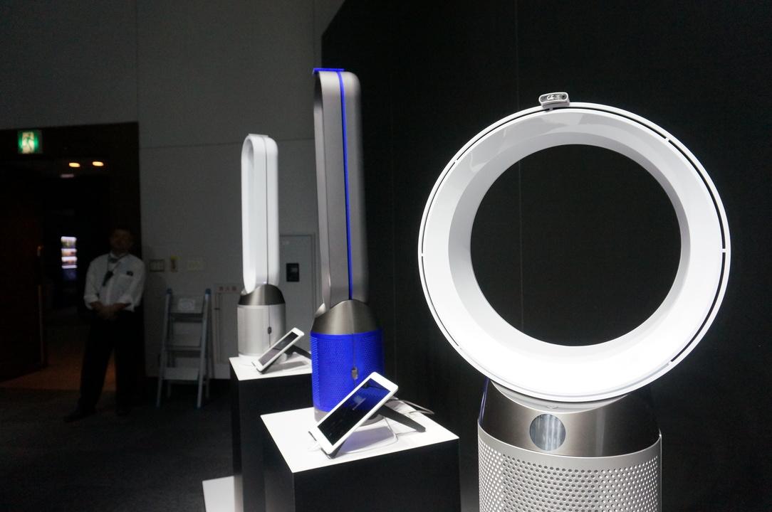 ダイソンが新型空気清浄機を発表!「空気の汚れ」を可視化できちゃう
