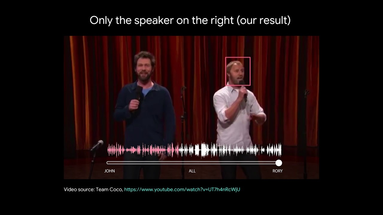 複数の人が話していても特定の声だけ聞き分けられる技術、Googleが開発
