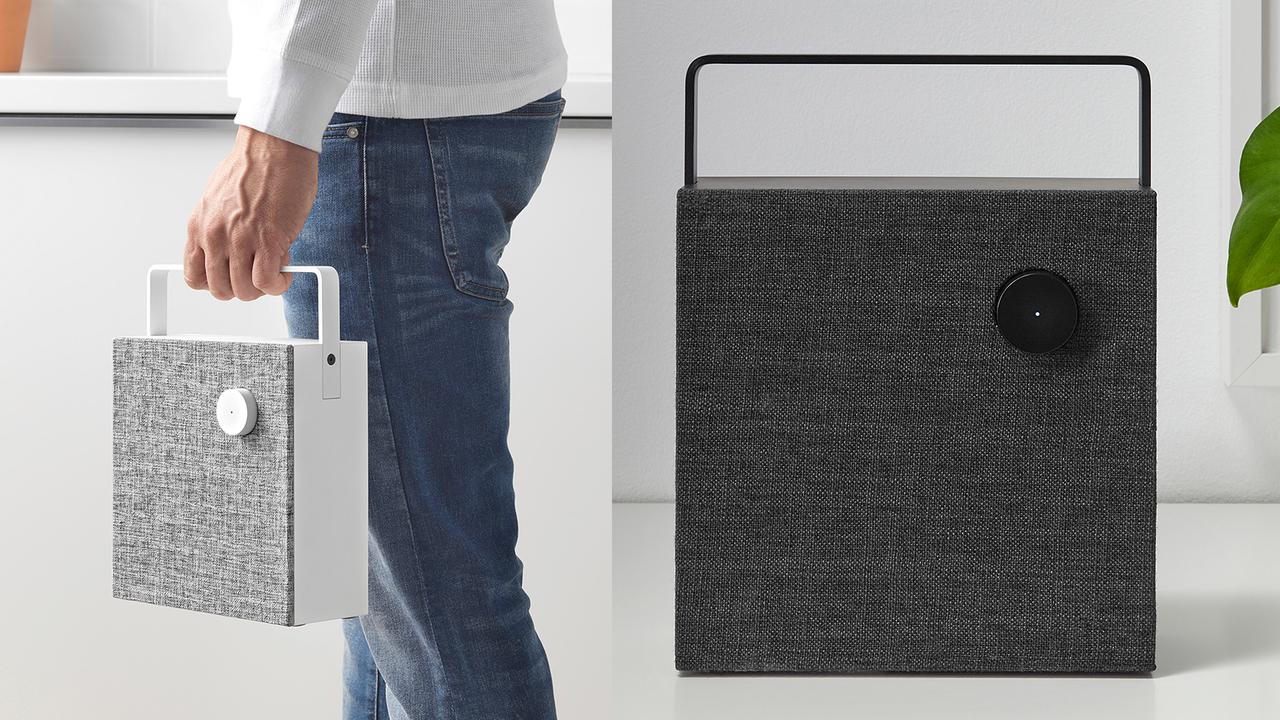 ミニマルデザインがおしゃれすぎるよ。IKEAからBluetoothスピーカーが登場