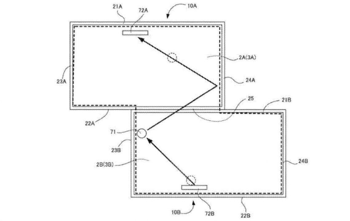 任天堂によるマルチディスプレイ特許。三次元的に画面を繋げてみたり、どんなふうに遊べるんだろ?