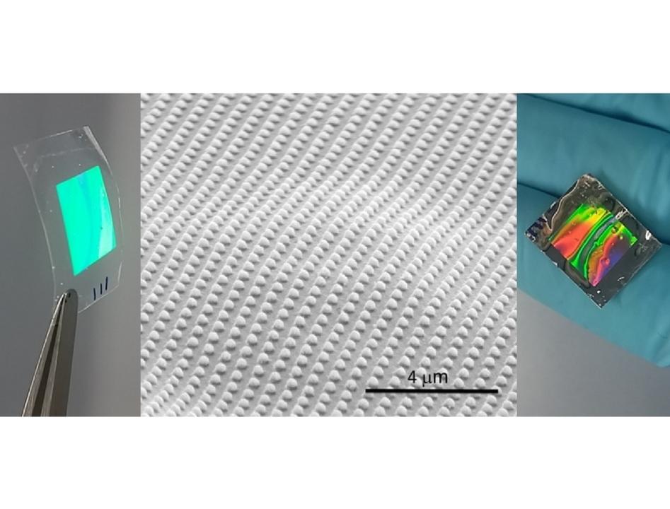 新開発、食べることができる玉虫色のうつくしいフィルム