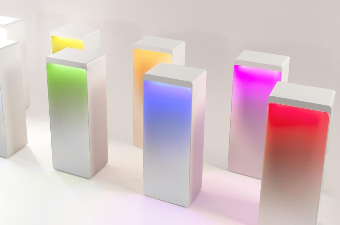 おしゃれなうえに実用的…。1600万パターンの色を表現して光るBluetoothスピーカー「Cromatica」