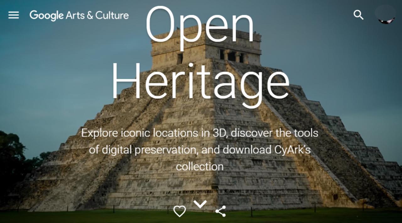 冒険野郎集まれ! Googleが古代遺跡をバーチャル探検できる「Open Heritage」サイト開設