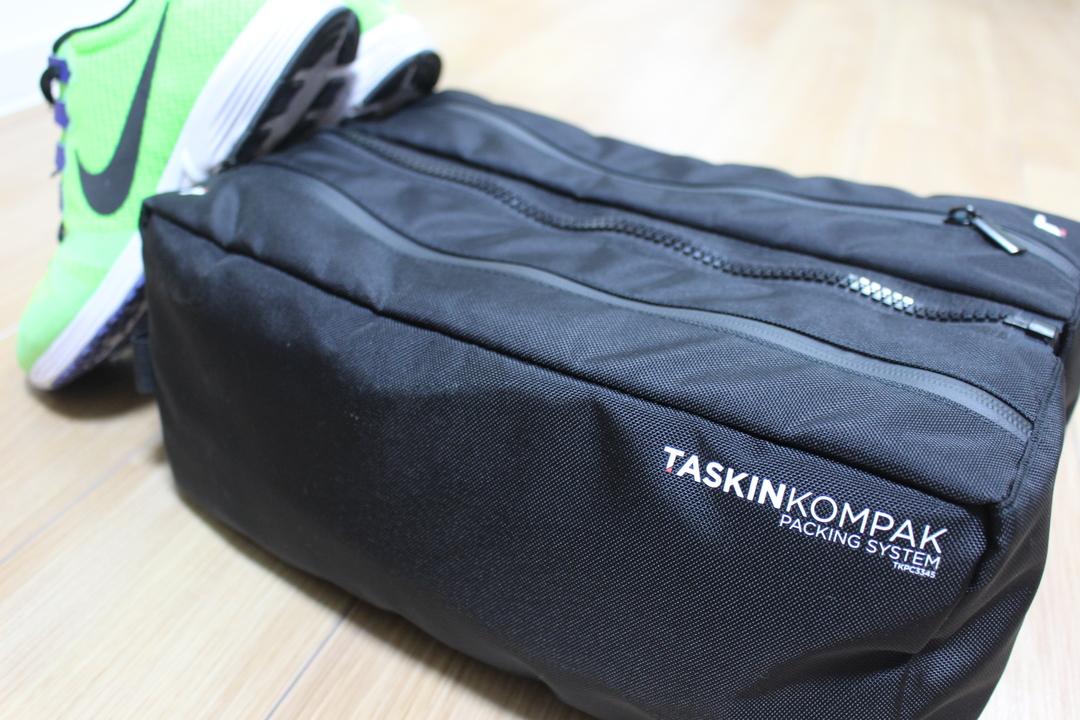 靴の持ち運びに便利。防臭素材と機能性を兼ね揃えた「クイック・シューズバッグ」を使ってみた