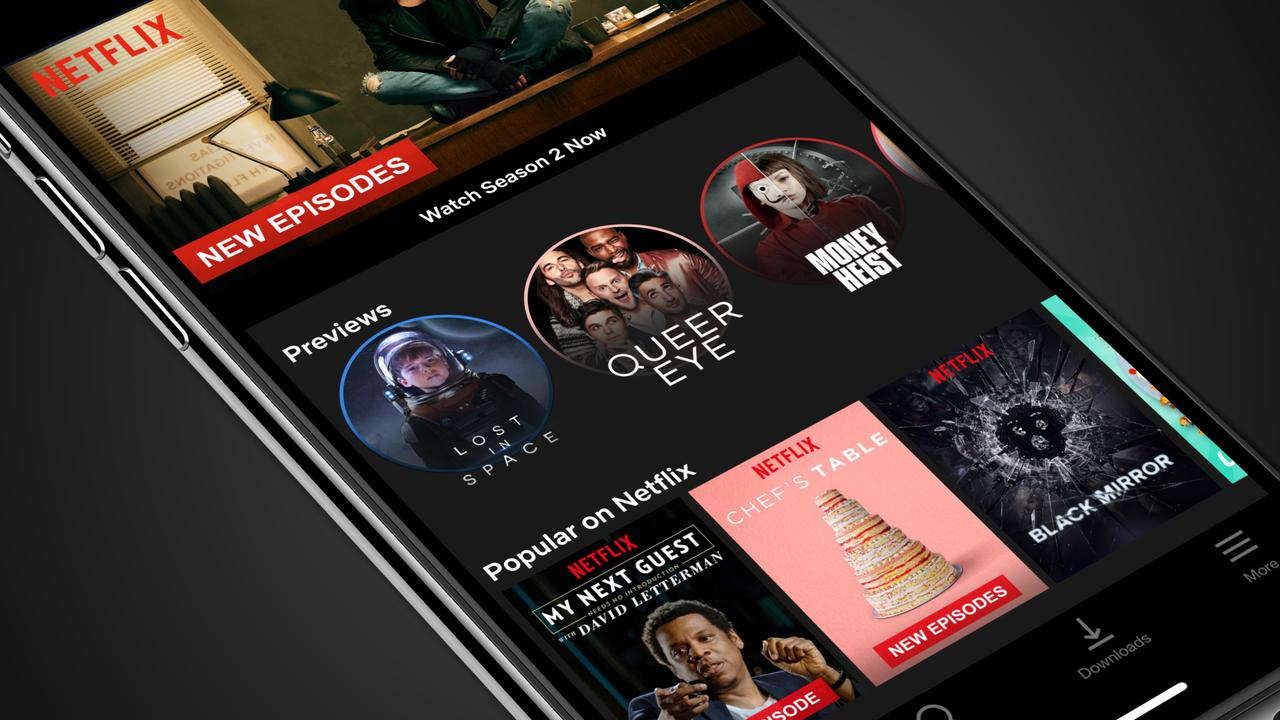 Netflixアプリに縦画面でトレーラーが見られる新機能