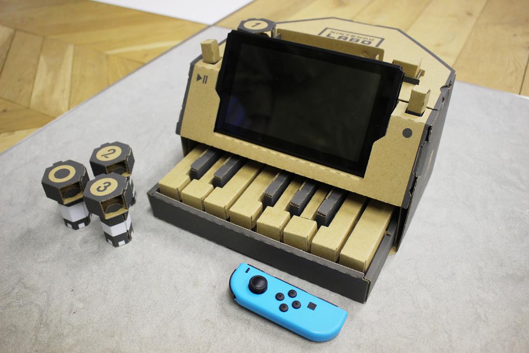 「はぁ〜なるほど!」が飛び交った、『Nintendo Labo』のピアノをハンズオン