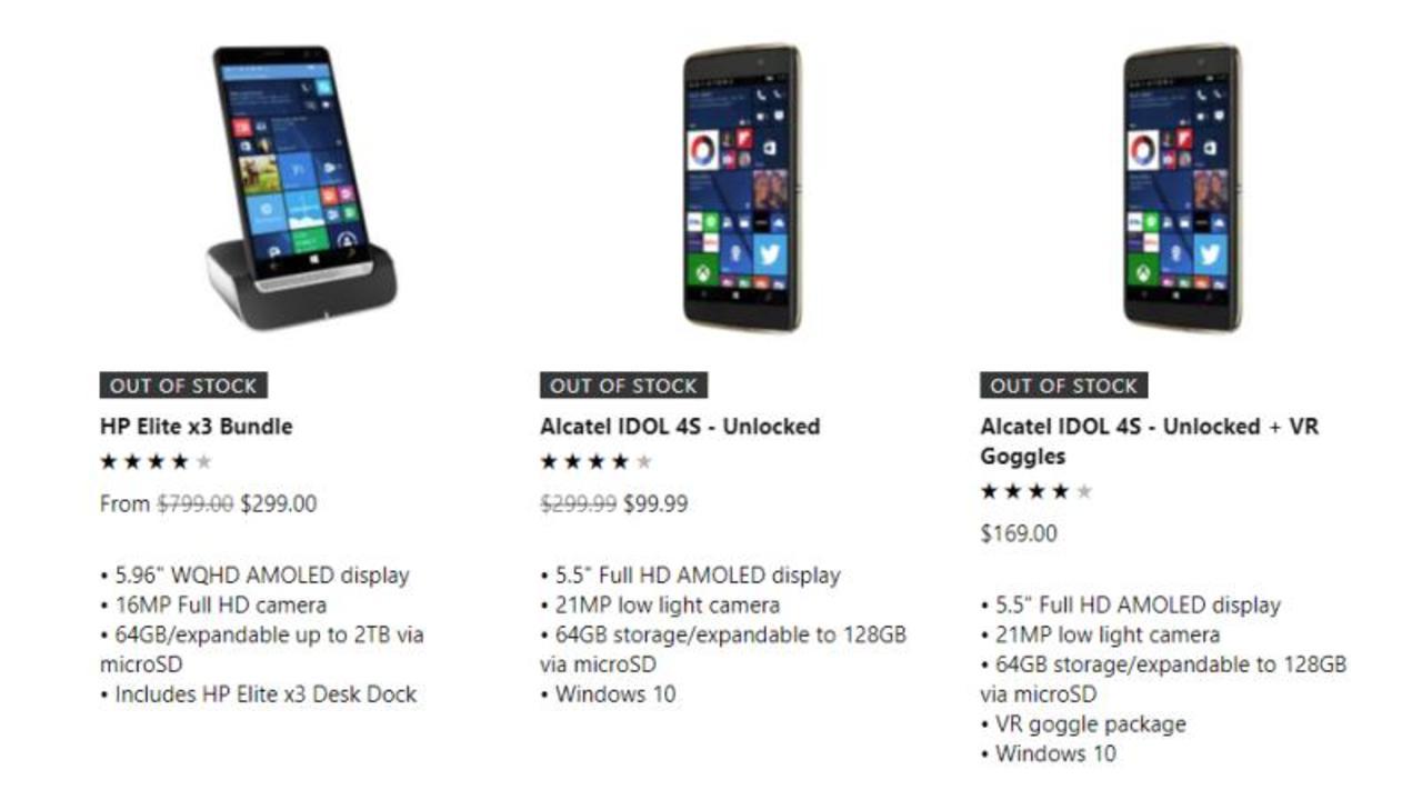 サヨナラ、Windows Phone…ラスト1台が公式ストアから売り切れる
