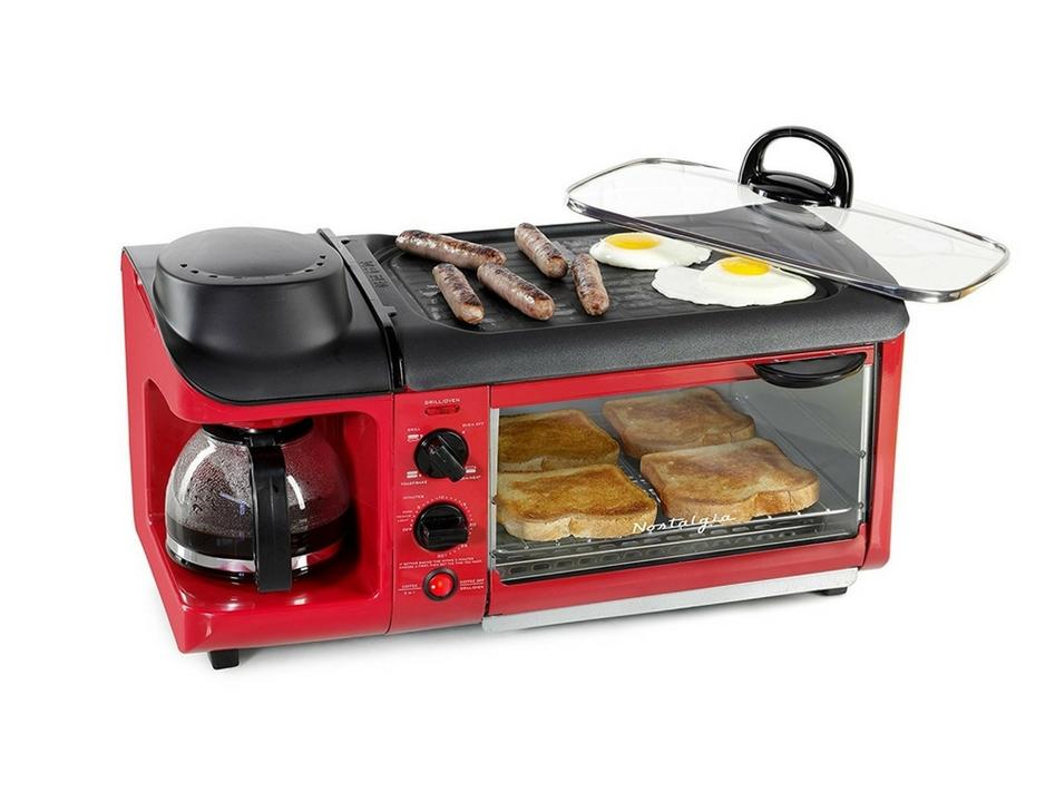 新生活にはこれ1台! 目玉焼き、コーヒー、トーストが1度にできるマルチタスク家電あります