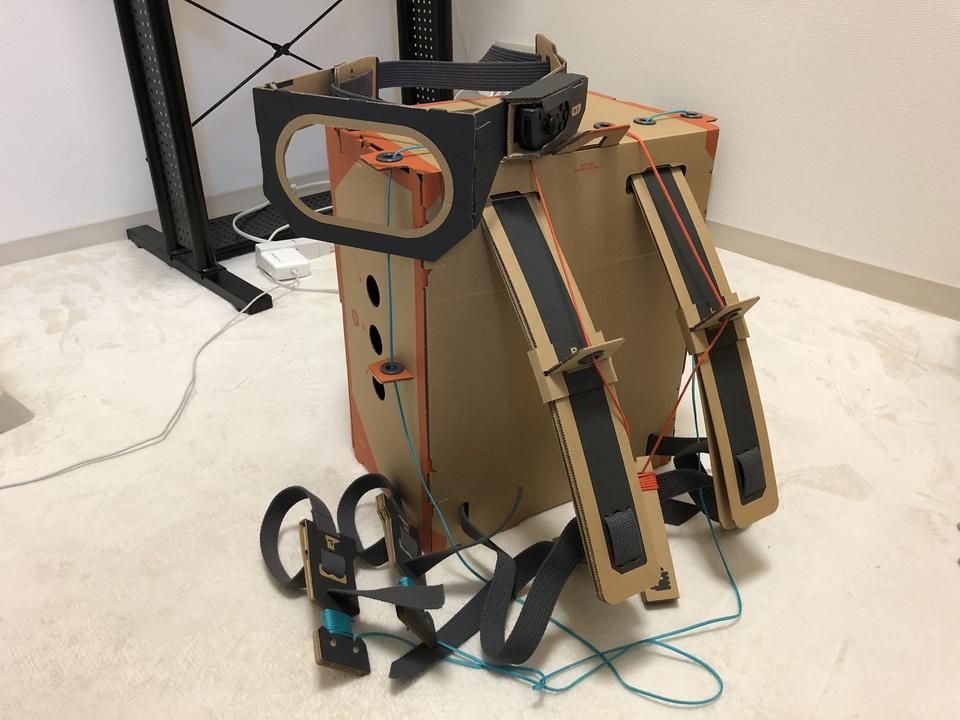 朝までに完成するのか!? 超突発、「Nintendo Labo ロボットキット」を夜通しで作ってみる!