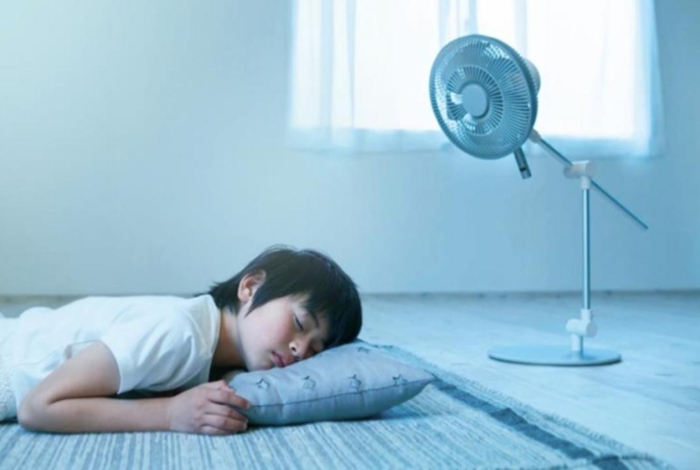 風、どうですか?当たってますか? ドウシシャのお世話好きそうな扇風機