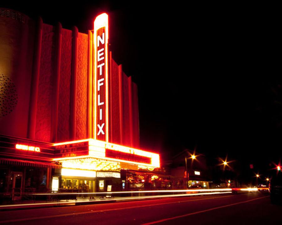 大画面で見られたら最高じゃないか。Netflixが映画館事業に興味津々