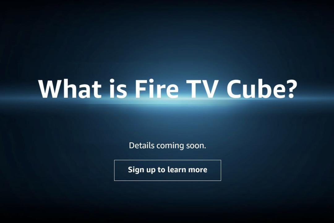 Amazonから、Fire TV + Echoな新しいプロダクト「Fire TV Cube」がやってくる?