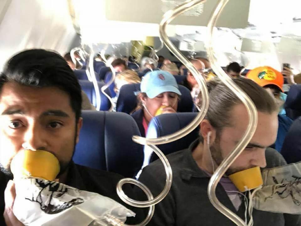 飛行機の酸素マスクは正しく使わないと命に関わる、即効で