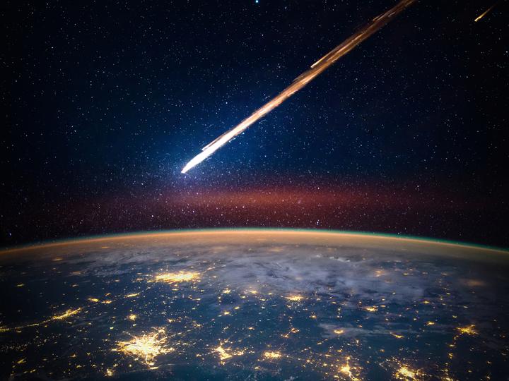 10年前に落下した隕石、もともと...