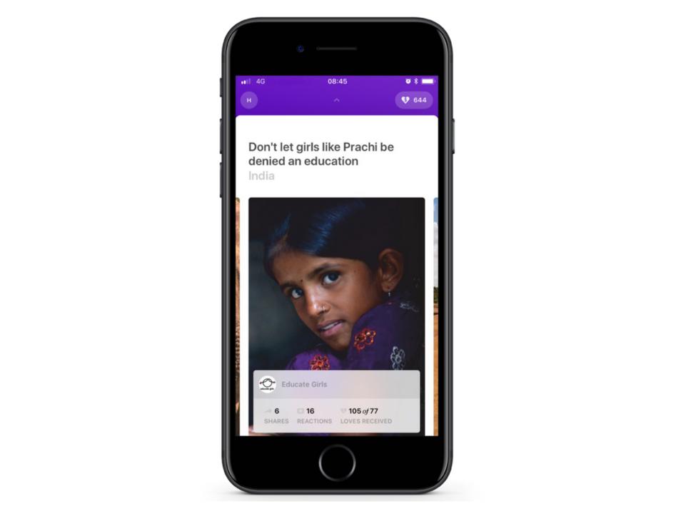 毎日大量に発生する「いいね!」が寄付アプリElbiでチャリティ活動になったら、いい世界になりそう
