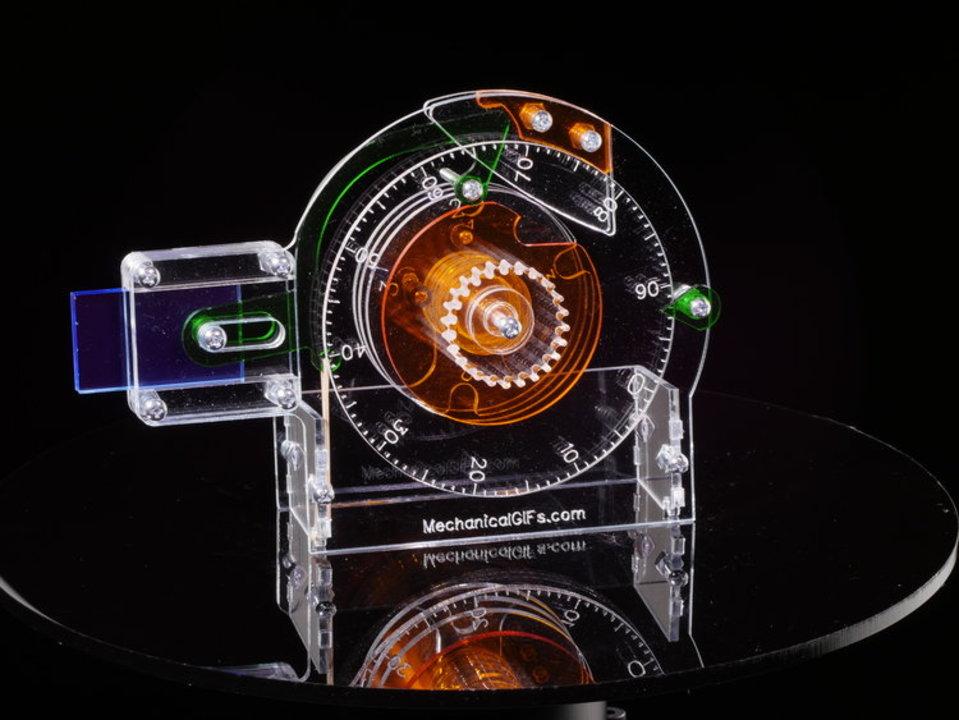 何回やっても覚えられないやつ。ポストによくある「ダイヤル錠」の仕組みがよくわかる透明レプリカ