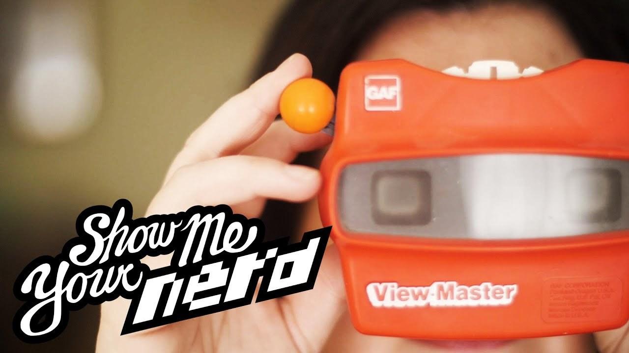 VRゴーグルの元祖「ビューマスター」のコレクター