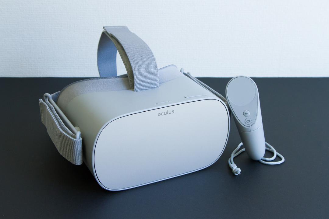 Oculus Go アンボックス:スタンドアローン型VRはここから始まる