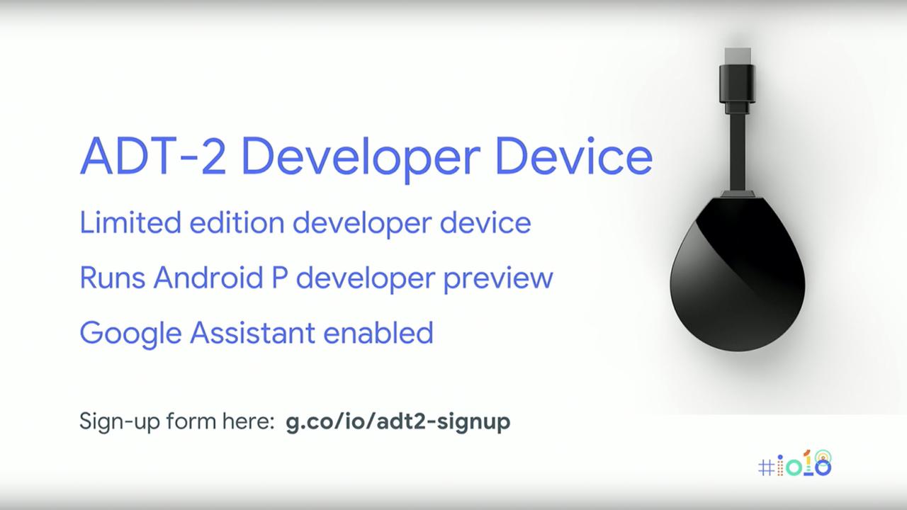噂のAndroid TVドングルは、開発者向けのデバイスだった… #io18