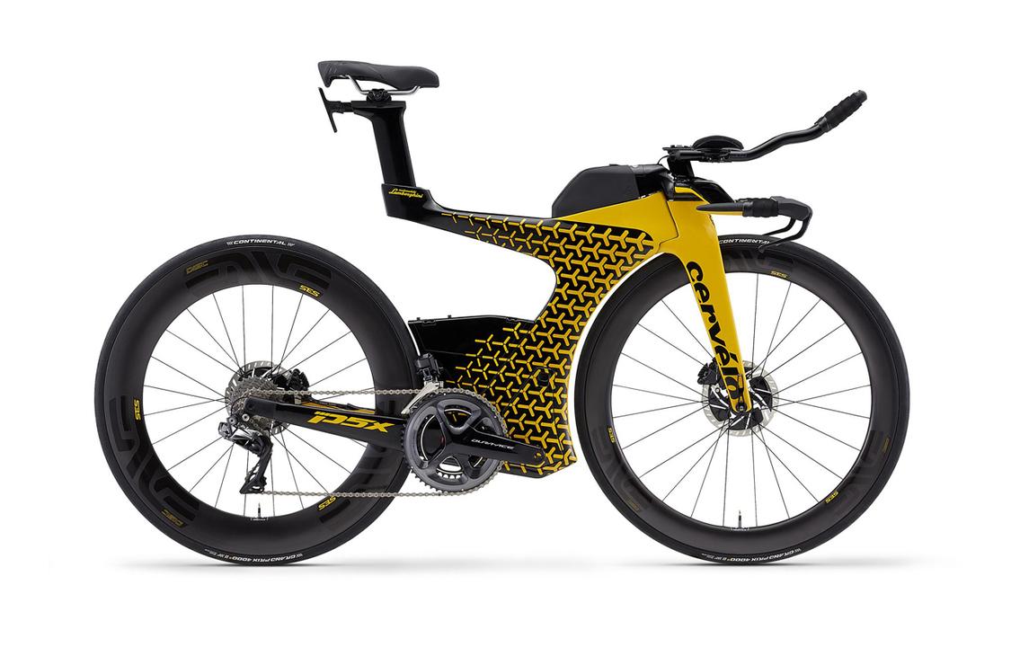 空力にこだわった、ランボルギーニのトライアスロン自転車