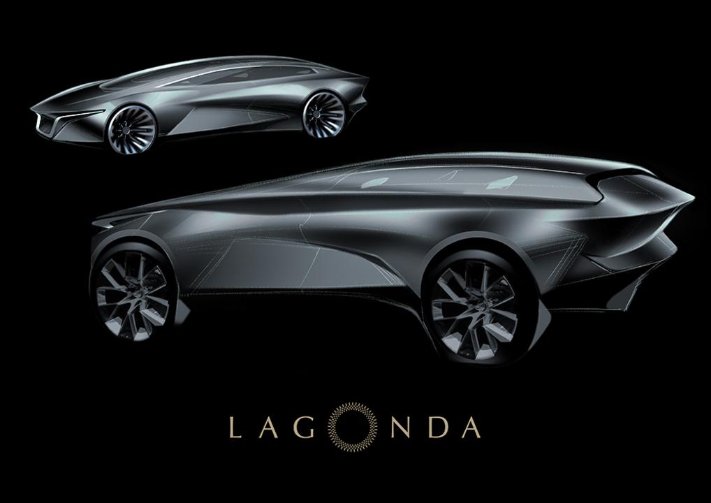 未来感ハンパない。2021年発表予定のAston MartinのEV「ラゴンダ」