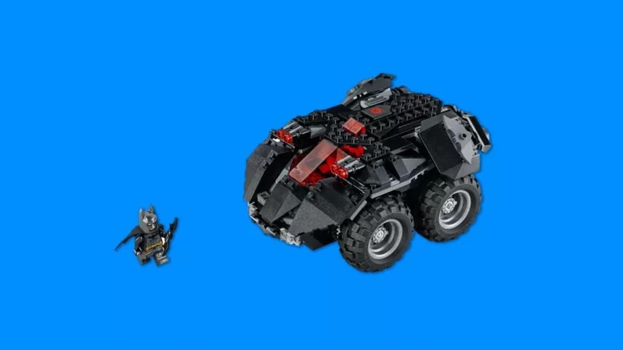 レゴ版Nintendo Laboだコレ。スマートフォンで操作できる「LEGO バットモービル」