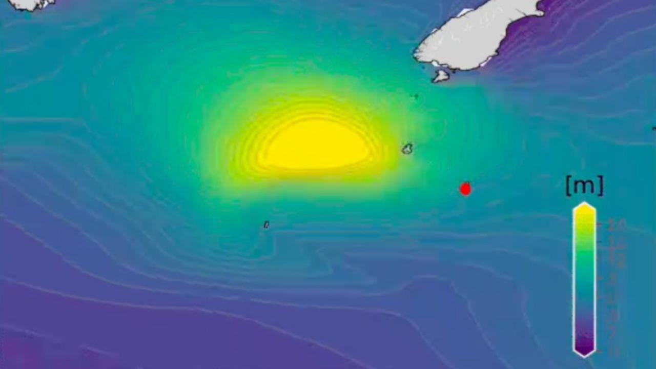 23メートル超の高波にNZの研究者らが「とてもエキサイティング」な理由