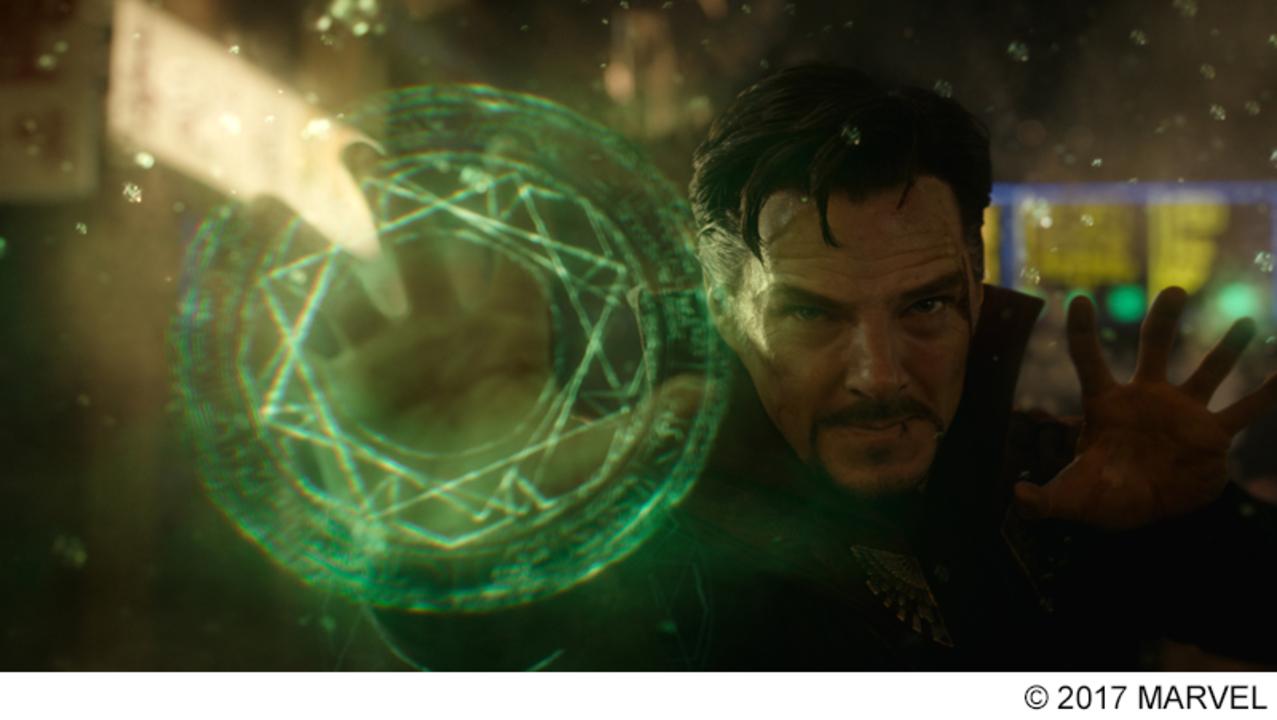 映画『ドクター・ストレンジ』の魔法陣がリアルに再現される