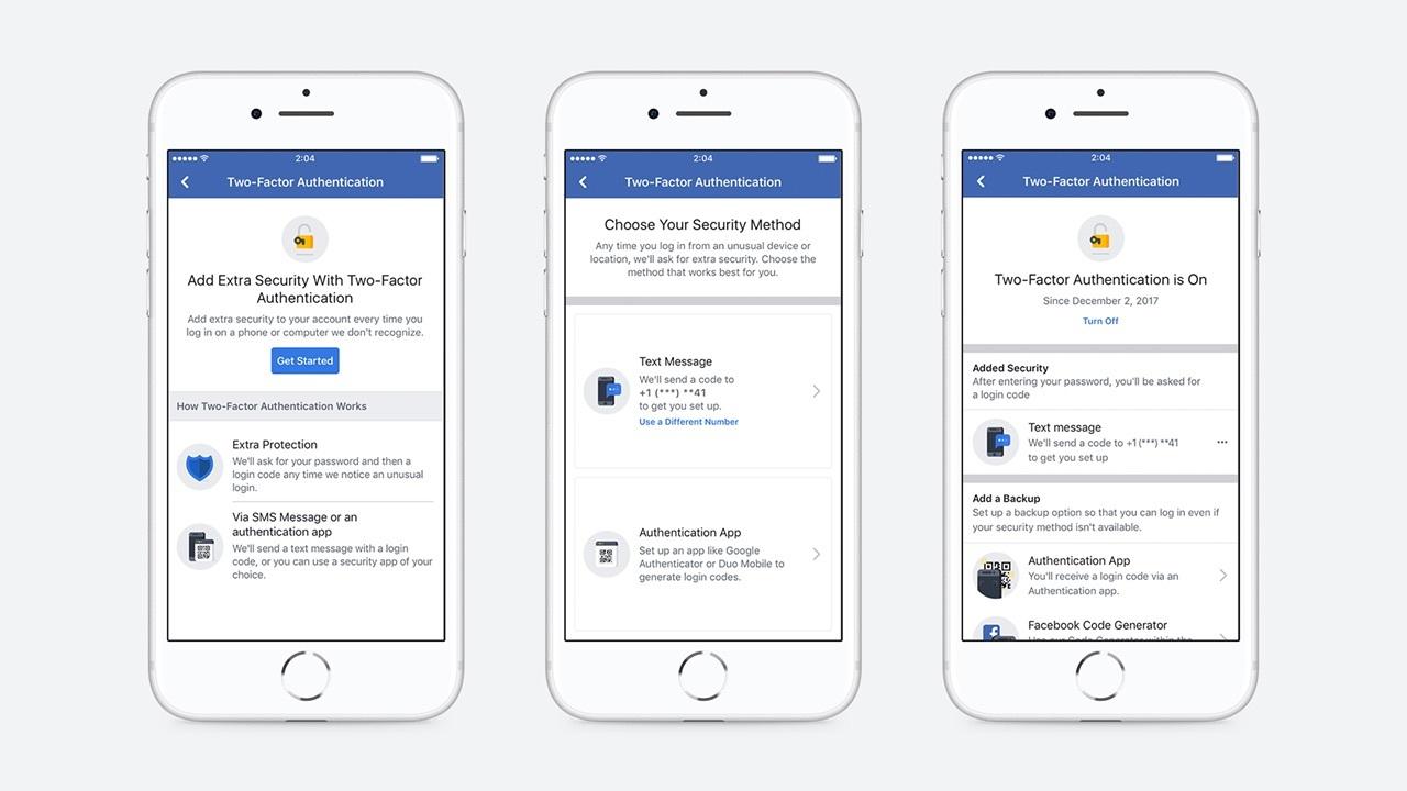 Facebook、二段階認証のセットアップ時に電話番号の登録が不要に。データがなければ漏洩の心配もなし!
