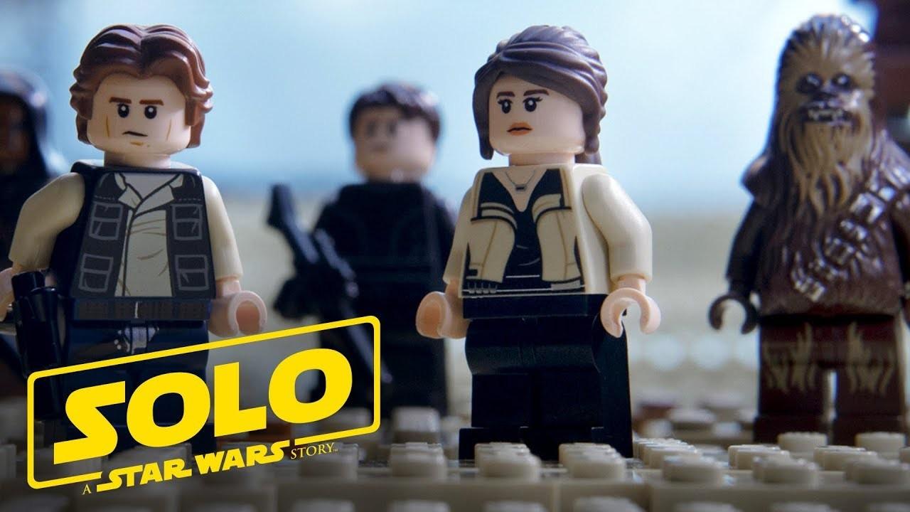 全編これでもいい。公式がレゴで再現した映画『ハン・ソロ/スター・ウォーズ・ストーリー』予告編