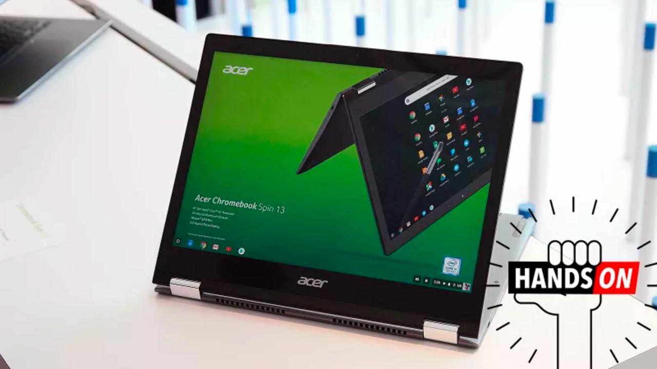 Acer Chromebook Spin 13ハンズオン:最もオールラウンダーなChrome OSラップトップ