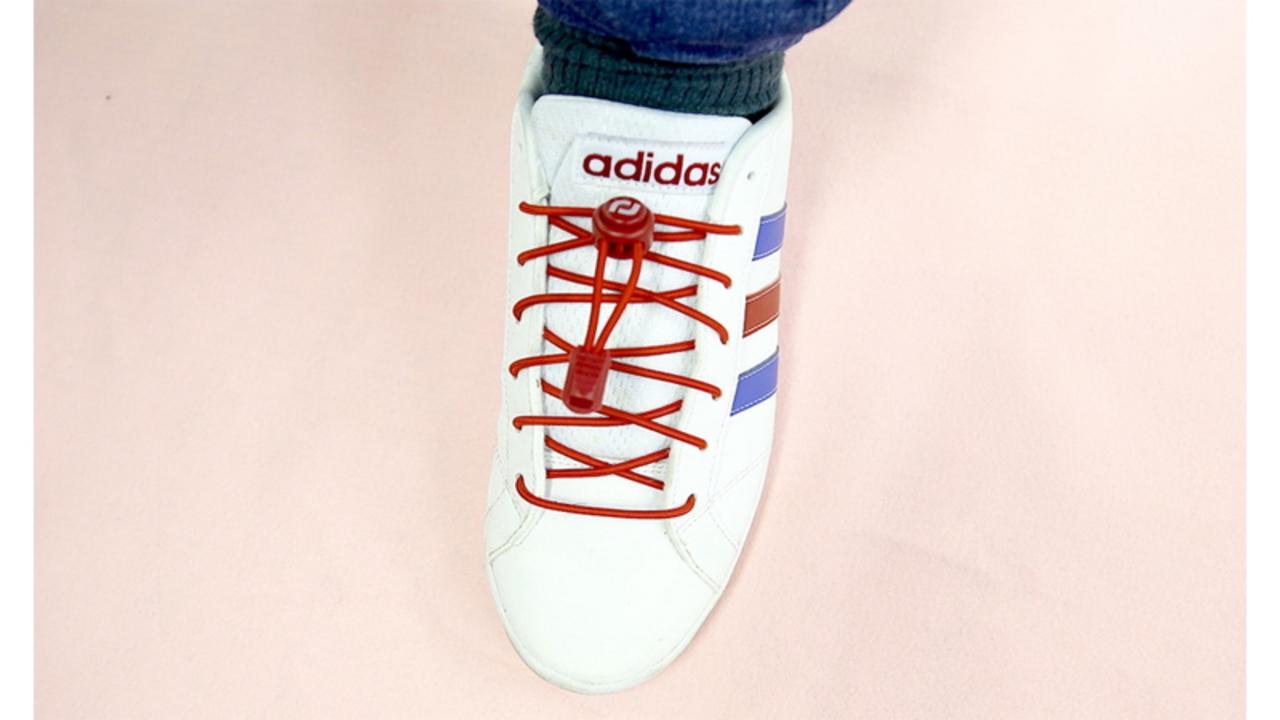 靴紐を結び直すストレスをなくしたい人へおくる、RJ-Sportの「結ばない靴紐」
