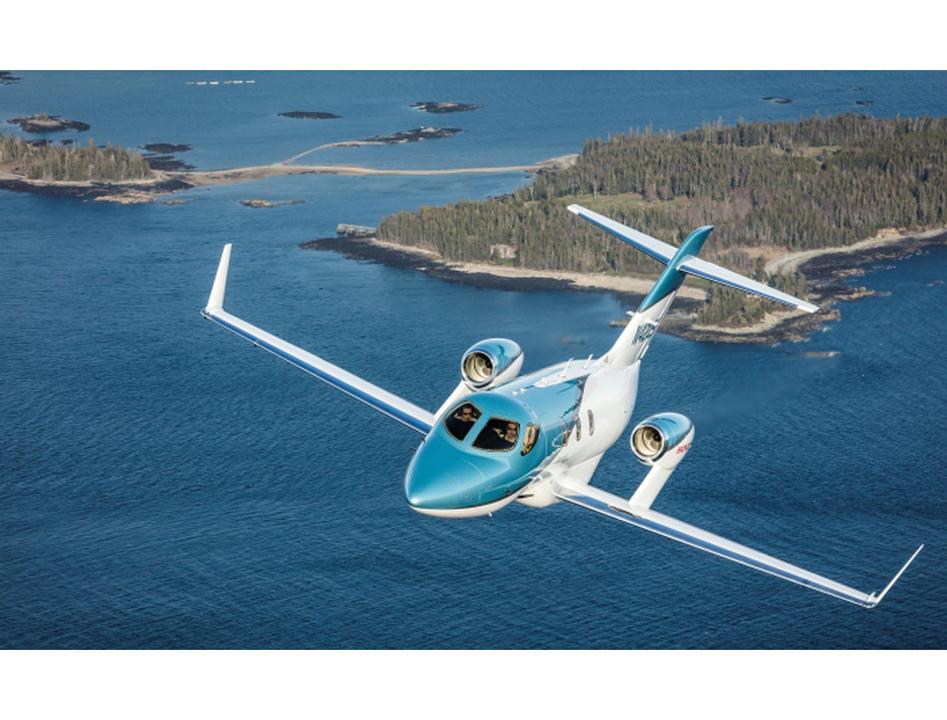 ホンダが新しい小型ビジネスジェット機「HondaJet Elite」を発表