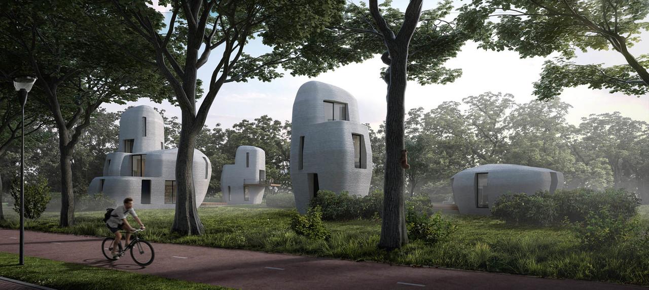 石器時代っぽさある。100%3Dプリントで作るお家がもうすぐ来る
