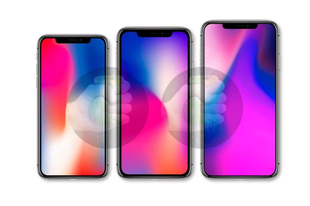 全モデルノッチあり。新型iPhoneのレンダリング画像が流出か?