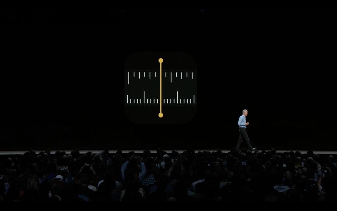 定規いらなくなりそう! Apple純正のARアプリ「メジャー」が発表 #WWDC18