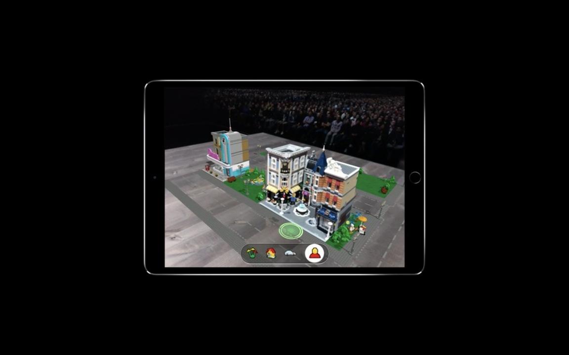 新しいARKitがやべえ! 本物とバーチャルのレゴの区別がつかないレベル #WWDC18