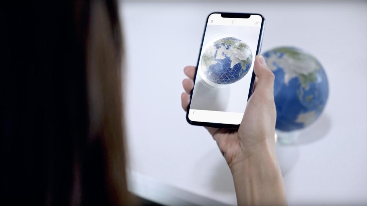 地球のあらゆる情報が学べるAR地球儀「EARTH」が資金募集中