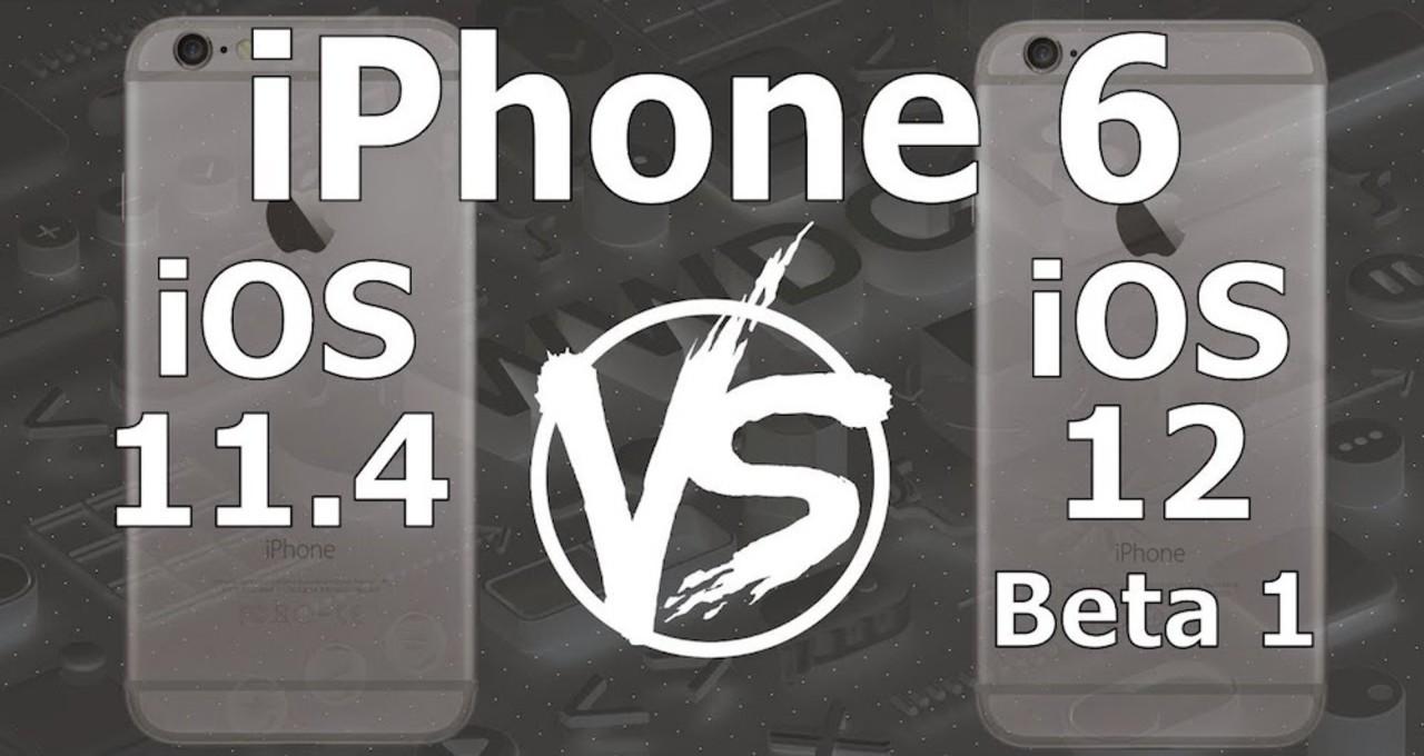 iOS 12は本当にiOS 11より速い? まだβ版だけどiPhone 6で検証してみた動画