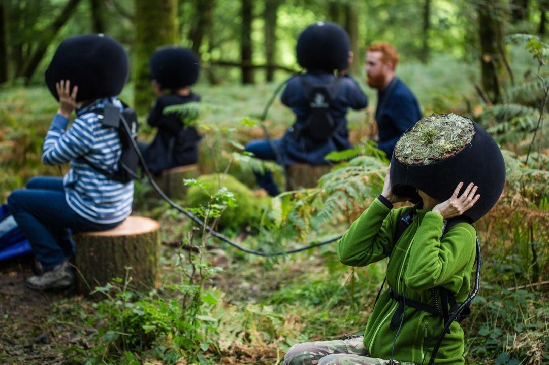 「動物の目」で森を見ているんだ、ぼくたち