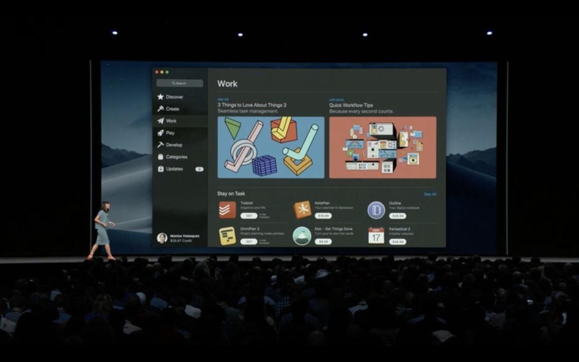 macOS モハベ以降、ソフトウェアアップデートにMac App Storeを使わないっぽいぞ