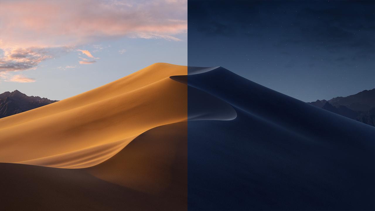 ダイナミック壁紙に使われている砂漠、朝から夜まで16枚